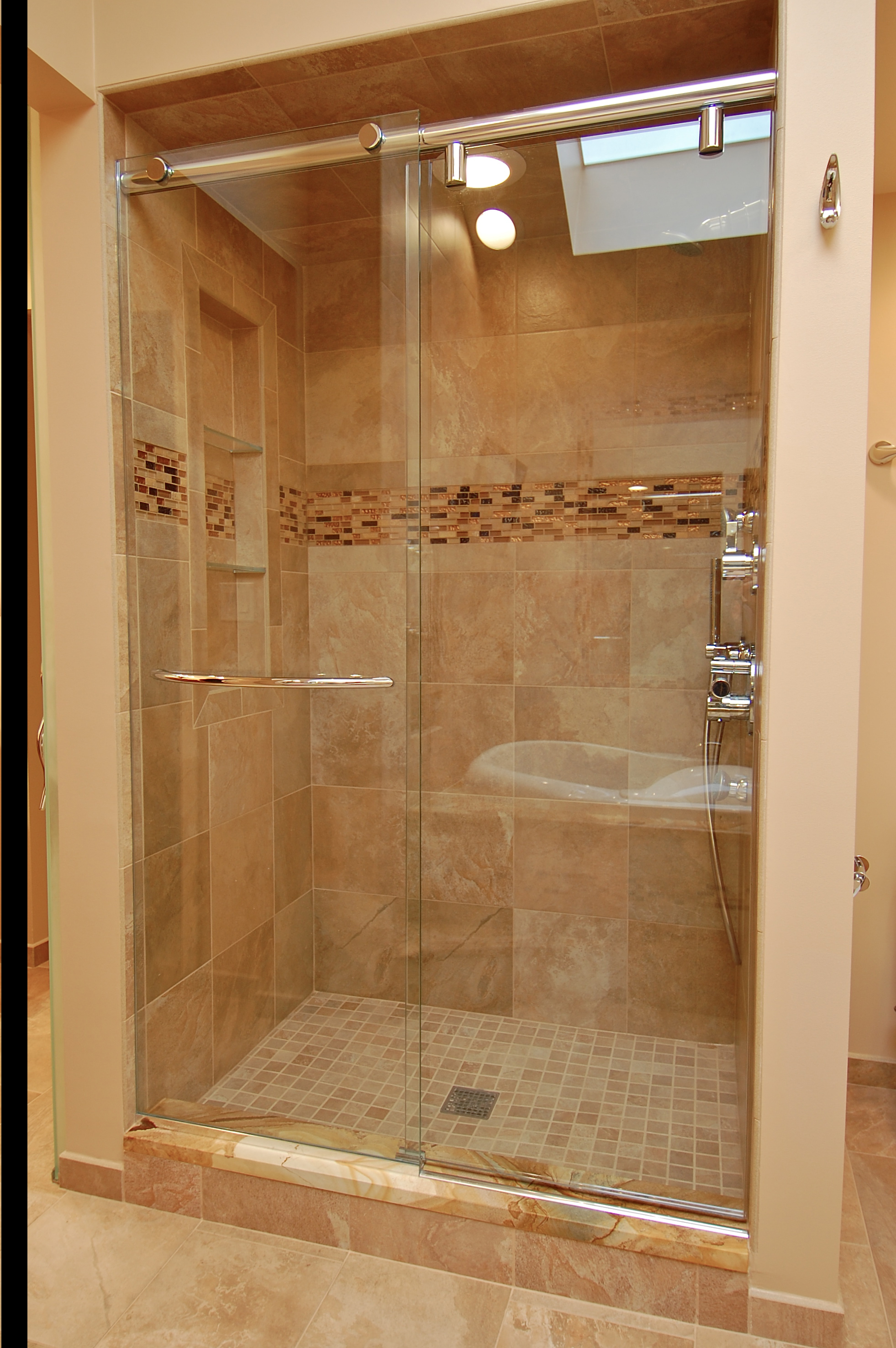 Frameless Shower Doors Shower Doors Chicago Mirrors